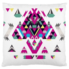 Geometric Play Large Cushion Case (two Sides)