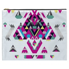 Geometric Play Cosmetic Bag (xxxl)