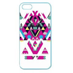 Geometric Play Apple Seamless Iphone 5 Case (color)