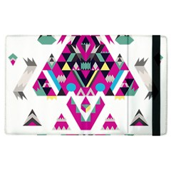 Geometric Play Apple iPad 3/4 Flip Case
