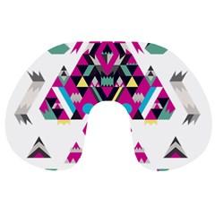 Geometric Play Travel Neck Pillows