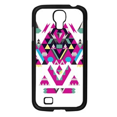 Geometric Play Samsung Galaxy S4 I9500/ I9505 Case (black)