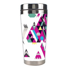 Geometric Play Stainless Steel Travel Tumblers