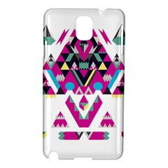 Geometric Play Samsung Galaxy Note 3 N9005 Hardshell Case