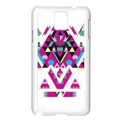 Geometric Play Samsung Galaxy Note 3 N9005 Case (White)