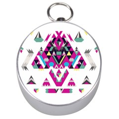 Geometric Play Silver Compasses