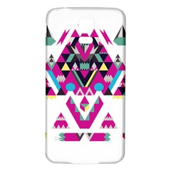 Geometric Play Samsung Galaxy S5 Back Case (white)