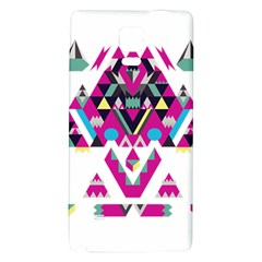 Geometric Play Galaxy Note 4 Back Case