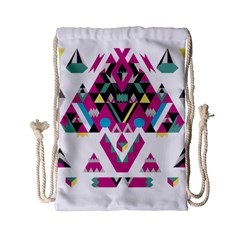 Geometric Play Drawstring Bag (small)