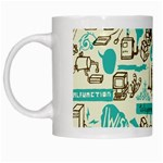 Telegramme White Mugs Left