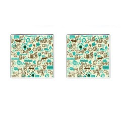 Telegramme Cufflinks (square)