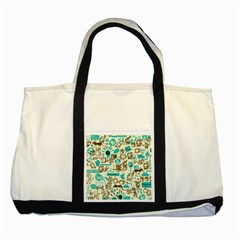 Telegramme Two Tone Tote Bag