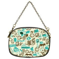 Telegramme Chain Purses (two Sides)