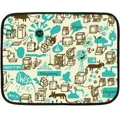Telegramme Double Sided Fleece Blanket (mini)