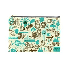 Telegramme Cosmetic Bag (large)
