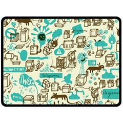 Telegramme Fleece Blanket (Large)