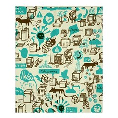 Telegramme Shower Curtain 60  X 72  (medium)