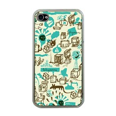 Telegramme Apple Iphone 4 Case (clear)