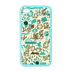 Telegramme Apple Iphone 4 Case (color)