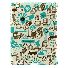 Telegramme Apple Ipad 3/4 Hardshell Case (compatible With Smart Cover)