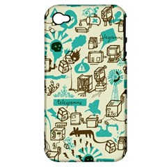 Telegramme Apple iPhone 4/4S Hardshell Case (PC+Silicone)