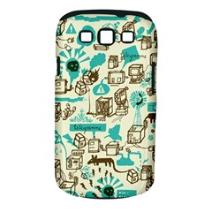 Telegramme Samsung Galaxy S III Classic Hardshell Case (PC+Silicone)