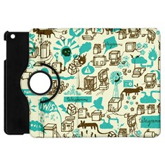 Telegramme Apple Ipad Mini Flip 360 Case