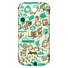 Telegramme Samsung Galaxy S3 S III Classic Hardshell Back Case