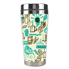 Telegramme Stainless Steel Travel Tumblers
