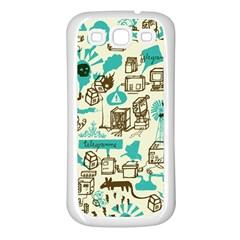 Telegramme Samsung Galaxy S3 Back Case (White)