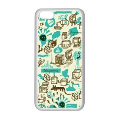 Telegramme Apple Iphone 5c Seamless Case (white)