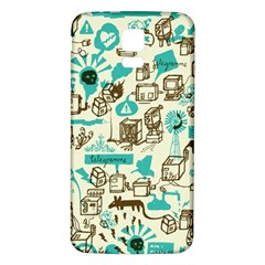 Telegramme Samsung Galaxy S5 Back Case (white)