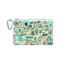 Telegramme Canvas Cosmetic Bag (s)