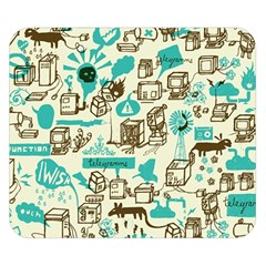 Telegramme Double Sided Flano Blanket (Small)