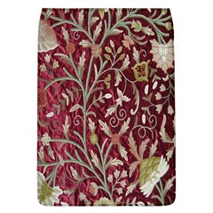 Crewel Fabric Tree Of Life Maroon Flap Covers (L)