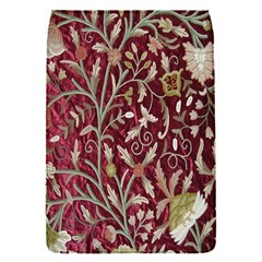 Crewel Fabric Tree Of Life Maroon Flap Covers (s)