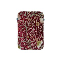 Crewel Fabric Tree Of Life Maroon Apple Ipad Mini Protective Soft Cases