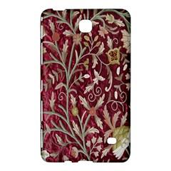 Crewel Fabric Tree Of Life Maroon Samsung Galaxy Tab 4 (8 ) Hardshell Case