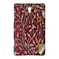 Crewel Fabric Tree Of Life Maroon Samsung Galaxy Tab S (8.4 ) Hardshell Case