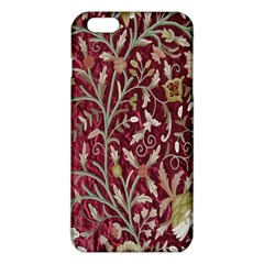 Crewel Fabric Tree Of Life Maroon Iphone 6 Plus/6s Plus Tpu Case