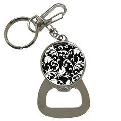 Vector Classical trAditional Black And White Floral Patterns Button Necklaces