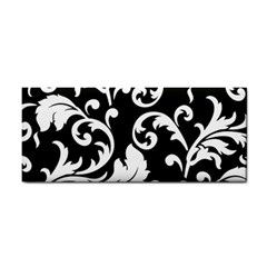 Vector Classical Traditional Black And White Floral Patterns Cosmetic Storage Cases