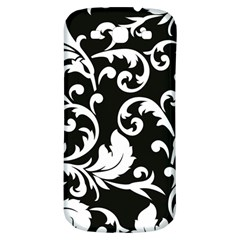 Vector Classical Traditional Black And White Floral Patterns Samsung Galaxy S3 S Iii Classic Hardshell Back Case