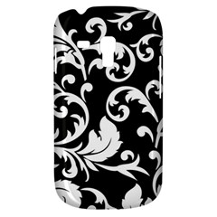 Vector Classical Traditional Black And White Floral Patterns Galaxy S3 Mini
