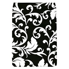 Vector Classical trAditional Black And White Floral Patterns Flap Covers (S)