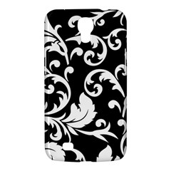 Vector Classical Traditional Black And White Floral Patterns Samsung Galaxy Mega 6 3  I9200 Hardshell Case
