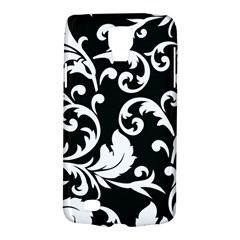 Vector Classical Traditional Black And White Floral Patterns Galaxy S4 Active