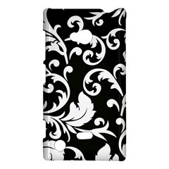 Vector Classical Traditional Black And White Floral Patterns Nokia Lumia 720