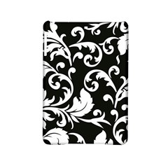 Vector Classical trAditional Black And White Floral Patterns iPad Mini 2 Hardshell Cases