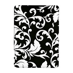 Vector Classical Traditional Black And White Floral Patterns Galaxy Note 1